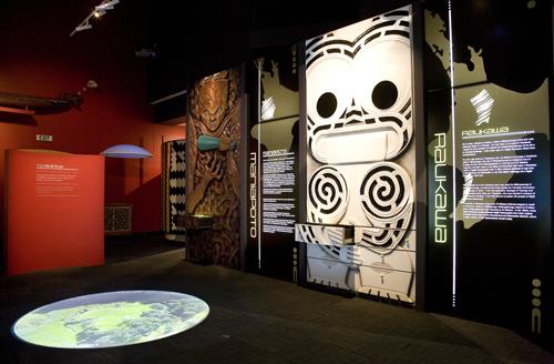 Ngaa Pouwhenua exhibition, Waikato Museum